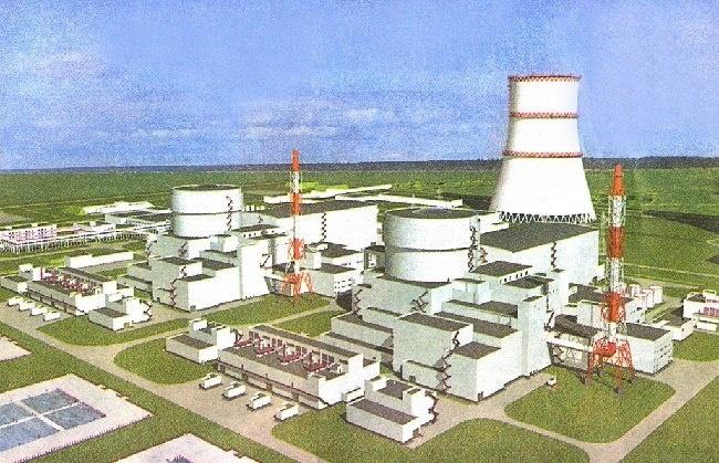 Модель Белорусской АЭС