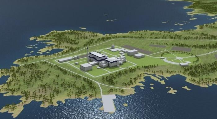 АЭС Ханхикиви в Финляндии