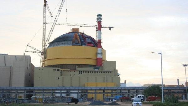 11 мая состоялся физпуск второго энергоблока АЭС Куданкулам