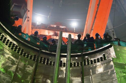 На третьем энергоблоке Тяньваньской АЭС приступили к «проливу» на открытый реактор