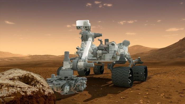Curiosity, общий вид (3D-модель)