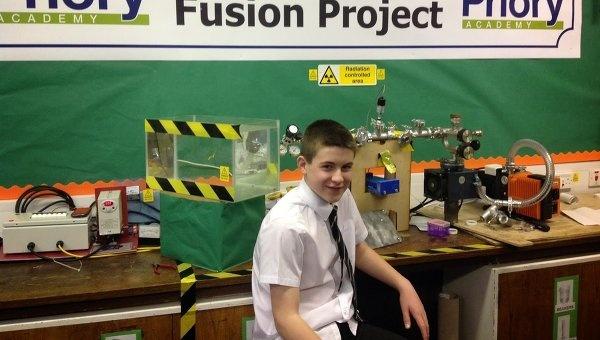 Британский школьник собрал термоядерный реактор