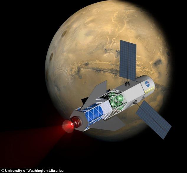 Концепция космического корабля с термоядерным двигателем