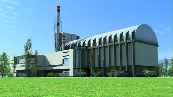 Модель реактора МБИР