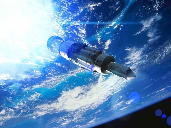 48 если траекторию космического корабля, который движется в космосе по прямой линии