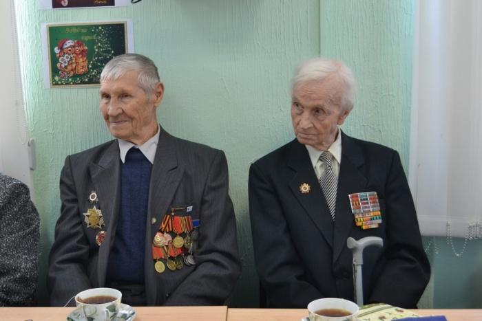 Поздравления ветерана с 75-летием
