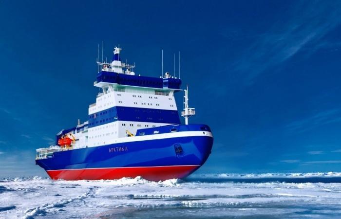 Ледокол проекта 22220 Арктика