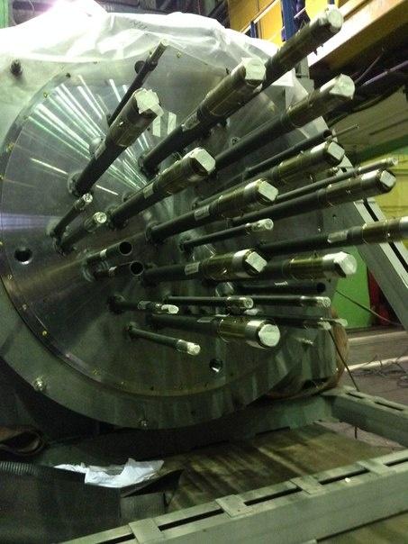 Крышка реактора РИТМ-200