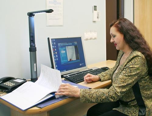 Визуализатор позволяет производить высококачественную оцифровку переплетенных и сшитых документов любой толщины