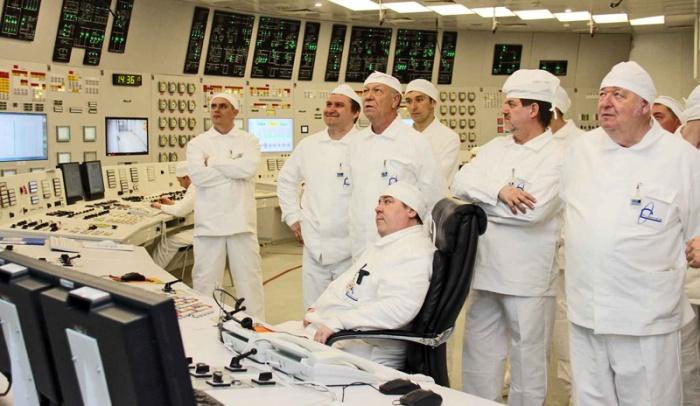 Участники семинара посетили действуюший энергоблок САЭС