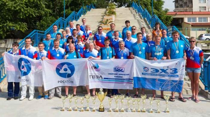 Команда Атом-спорт