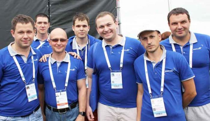 Команда Смоленской АЭС с генеральным директором Росатома Сергеем Кириенко