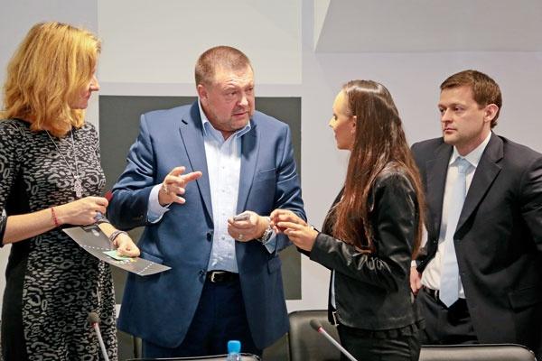 Участники бизнес-форума