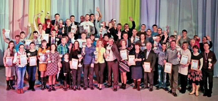 Победители и призеры спартакиады САЭС-2016