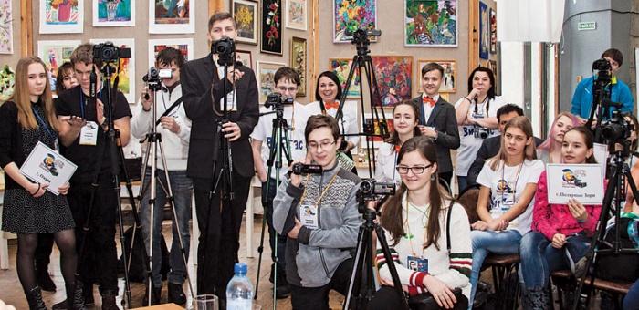 Участники фестиваля Атом-ТВ
