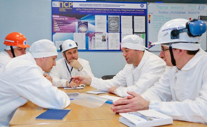 Эксперты ВАО АЭС на ремонтном штабе Смоленской станции