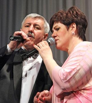 Сергей и Яна Полищук