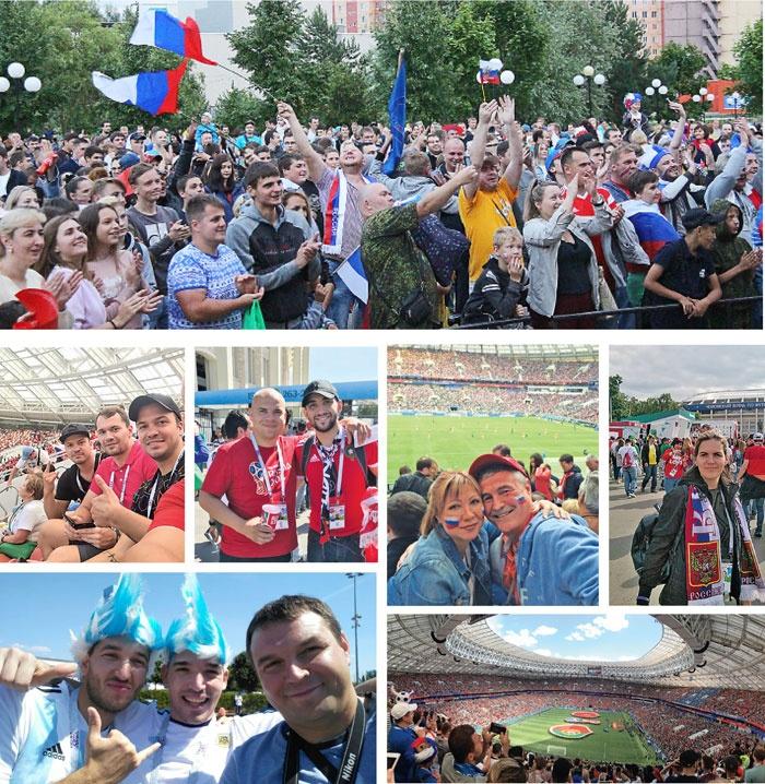 Смоленские атомщики побывали на матчах Чемпионата мира по футболу