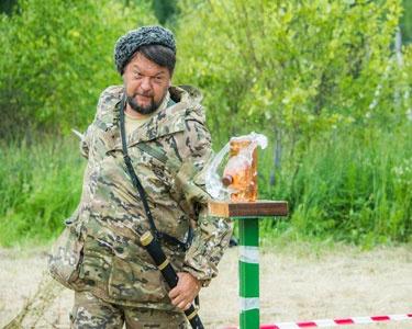 Открытые соревнования Смоленской АЭС по рубке шашкой