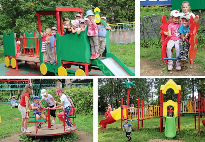 Детский сад Мишутка города-спутника Смоленской АЭС