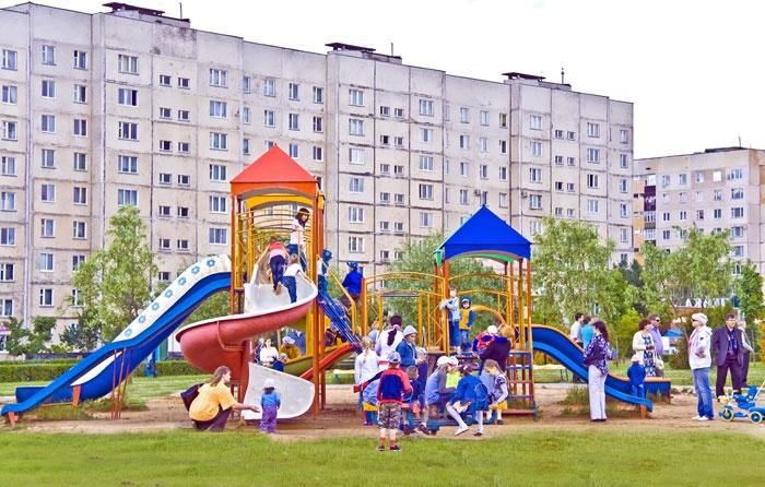 Город-спутник Смоленской АЭС Десногорск