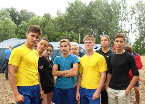 Сборная спасателей-водников Смоленской АЭС