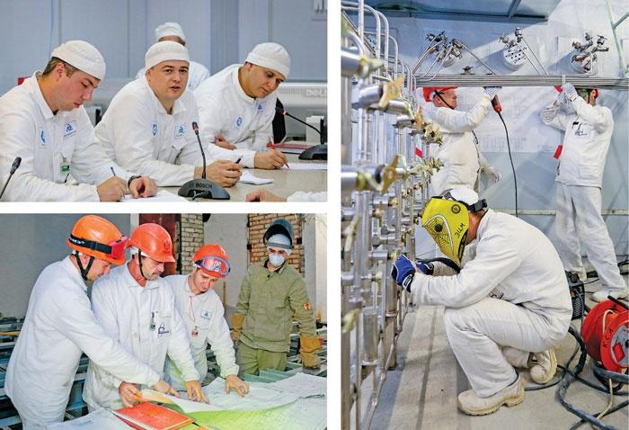Работники ЭЦМ участвуют в модернизации блока Смоленской АЭС