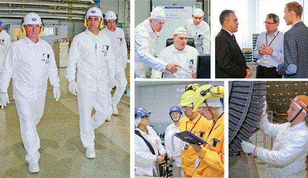 Международные и корпоративные инспекции на Смоленской АЭС