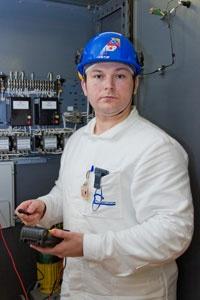 Ведущий инженер ЦТАИ Смоленской АЭС Валерий Мищенко
