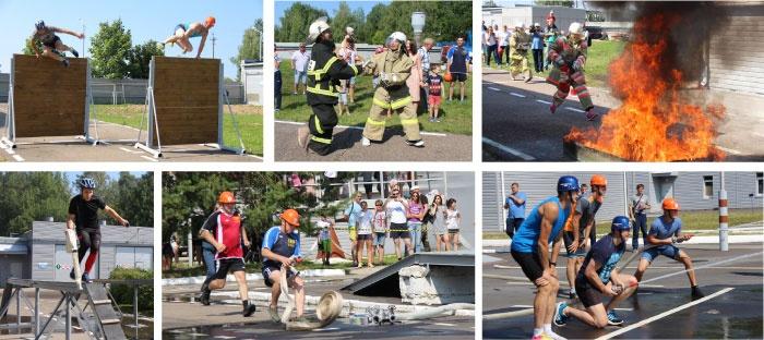 Соревнования пожарных дружин Смоленской АЭС