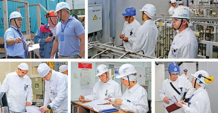 Инспекционные проверки на Смоленской АЭС