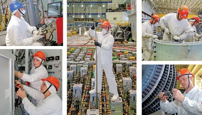 Ремонт энергоблока 3 Смоленской АЭС