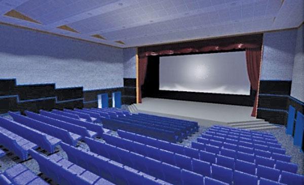 Проект реконструкции зрительного зала
