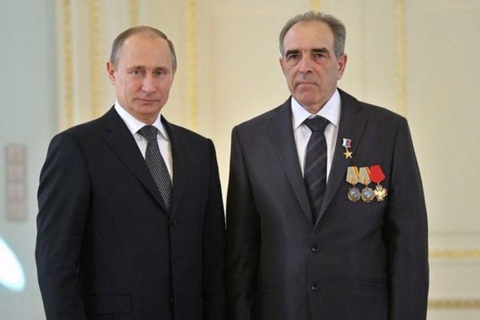 Владимир Путин и Константин Чуманов
