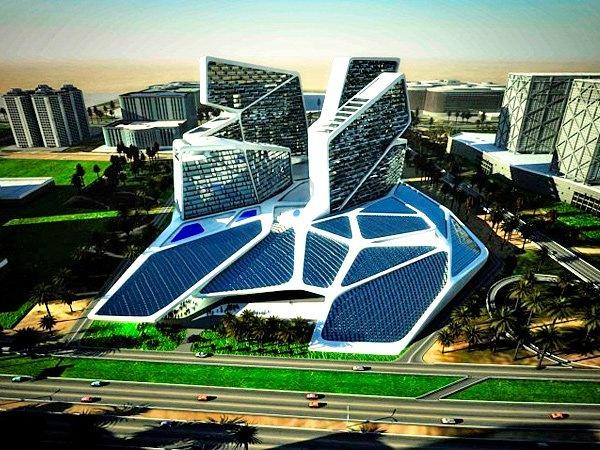 Потоки солнечной энергии будут питать новый отель в Дубае