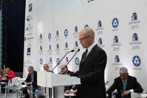Глава Росатома Сергей Кириенко на АТОМЭКСПО 2015