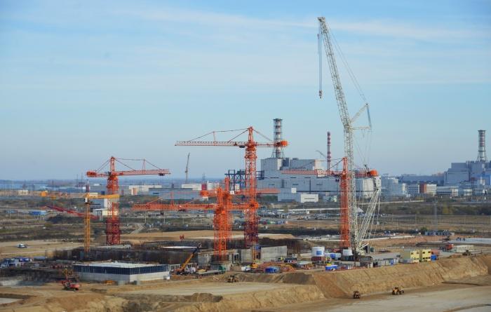 Курская АЭС-2 в ноябре 2018 года