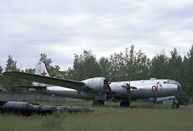 Стратегический бомбардировщик Ту-4. Фото: Виталий Арутюнов/РИА Новости
