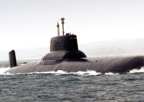 Тяжелый ракетный подводный крейсер стратегического назначения проекта 941, фото mil.ru
