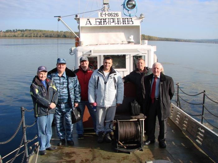 Экспедиционное судно радиоэкологического центра ГХК - А. Бояринов