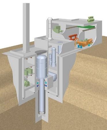 Westinghouse хочет разрабатывать быстрый реактор LFR со свинцовым теплоносителем
