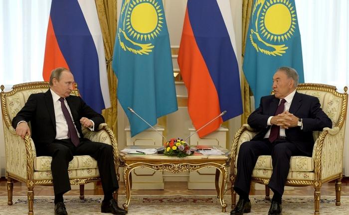 Владимир Путин и Нурсултан Назарбаев. Фото: www.kremlin.ru