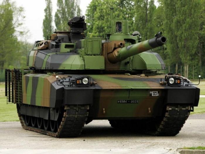 AMX-56 Леклерк — французский современный основной боевой танк