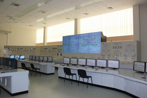 Полномасштабный тренажер блочного щита управления станцией
