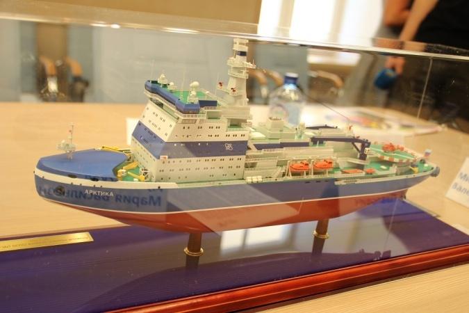 Атомный ледокол Арктика проекта 22220