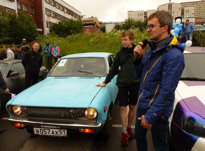 Nissan Datsun представителя совета молодежи Атомфлота на фестивале АвтоLOOK