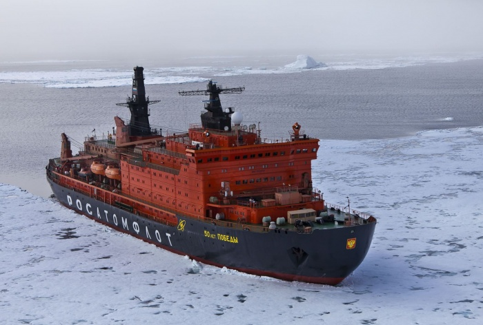 Атомный ледокол 50 лет Победы Росатомфлота открыл 25-й сезон туристических круизов