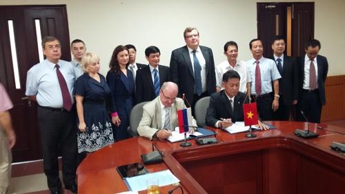 АЭС-НИАЭП и Электроэнергетическая корпорация Вьетнама подписали Соглашение по строительству АЭС Ниньтхуан-1