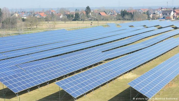 Cолнечные батареи в Германии впервые сравнялись с АЭС