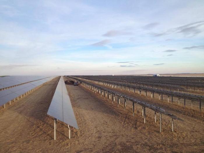 Бурибаевская солнечная электростанция введена в эксплуатацию